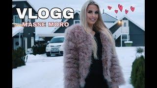 Vlogg - MASSE MORO! Barnevakt ++