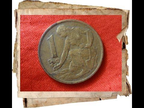 Каталог монет Чехословакия 1 чехословацкая крона Czechoslovak koruna 1961–1990 года нумизматика