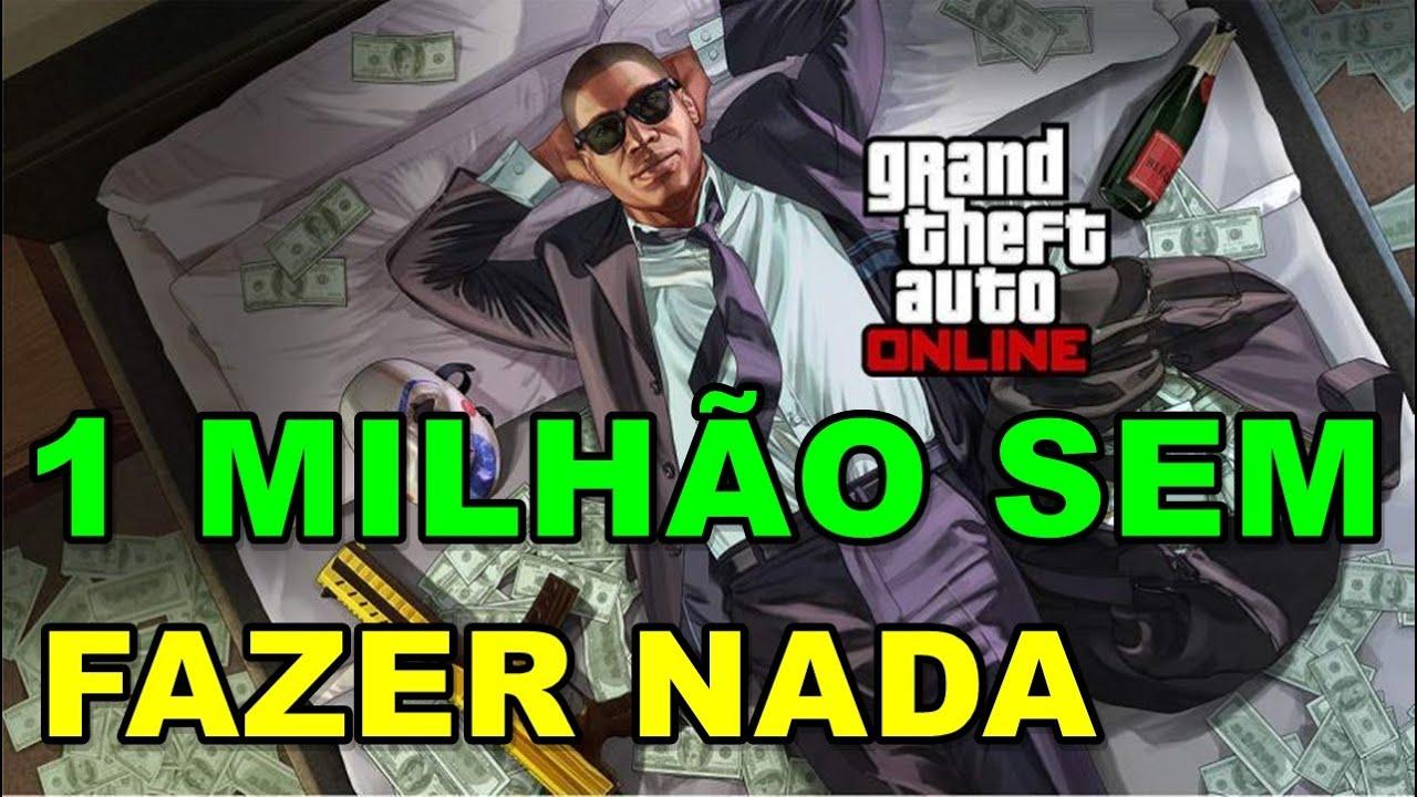 GTA 5 ONLINE COMO FICAR RICO SOZINHO DO ZERO 1 MILHÃO SEM GLITCH SEM MOD MENU E SEM HACK 2.0 #04!!