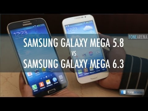Samsung Galaxy Mega 6.3 Vs Samsung Galaxy Mega 5.8