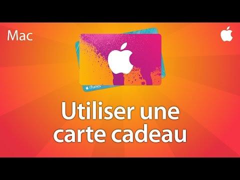 Utiliser Une Carte Cadeau ITunes Ou App Store - Tutoriel Mac