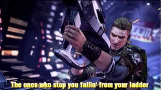 Repeat youtube video Borderlands 2 opening song Short Change Hero (Lyrics)
