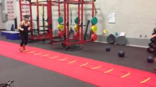 360 Fitness Semi Private Group  Vs. The Agility Ladder