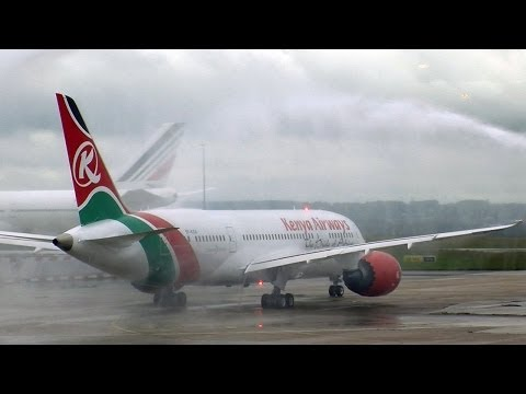 Kenya Airways étrenne son Dreamliner sur Paris