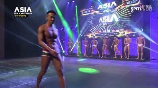 Korean Male Fitness Model@2016 Asia WBFF Korean