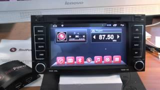 Штатное головное устройство Touareg Redpower 18142 android(Автомагнитола на популярный автомобиль, Volkswagen Touareg, Multivan Современные штатные головные устройства Redpower..., 2015-02-16T15:51:53.000Z)