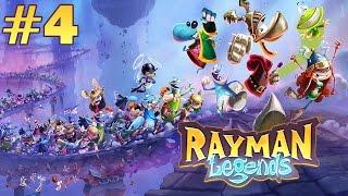 Прохождение Rayman Legends - Реслинг! #4