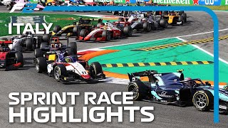 F2 Sprint Race Highlights | 2020 Italian Grand Prix