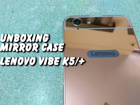 Best Cover For Lenovo Vibe K5/Plus : Unboxing Review Mirror Metal Case Cover