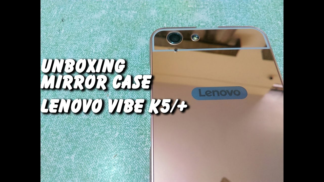 competitive price 31cc2 477f8 Best Cover For Lenovo Vibe K5/Plus : Unboxing Review Mirror Metal Case Cover