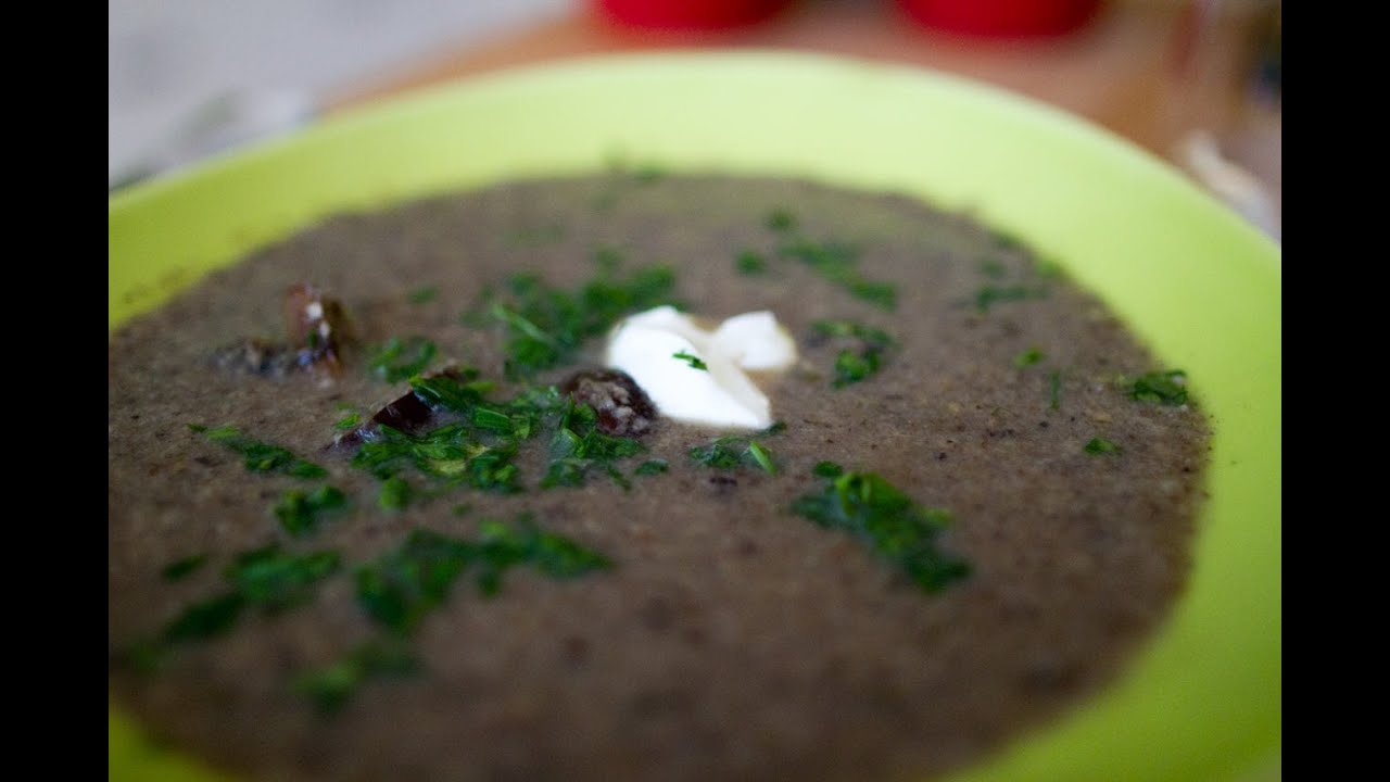 Roasted Wild Mushroom Soup Youtube