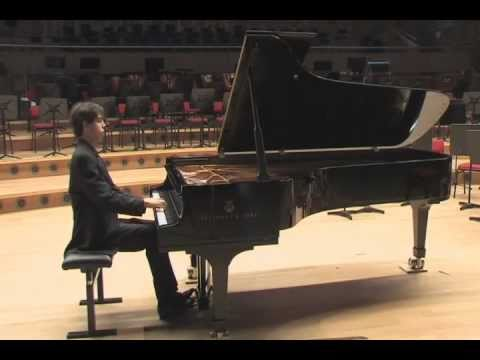 Bach Partita No. 1 part 1 Nicolas van Poucke, piano