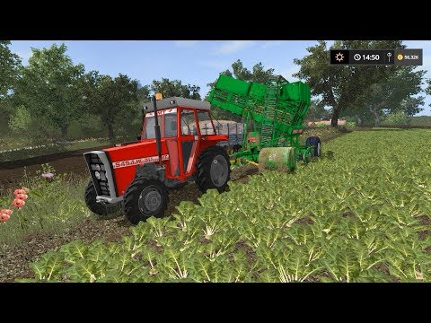 Harvesting and packaging sugar beet | Small Farm | Farming Simulator 2017 | Episode 15