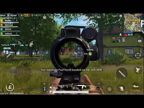Damn Aim assist rocks! - PUBG Mobile - Gameplay 01
