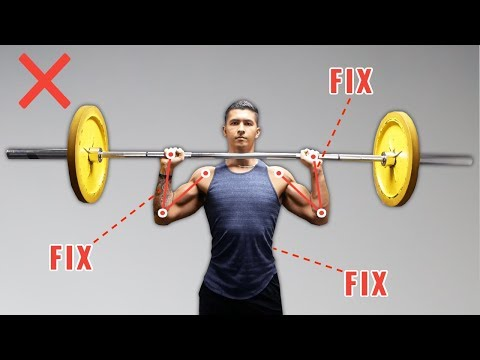 5 Exercises to improve Your Overhead Press and make Big Shoulders