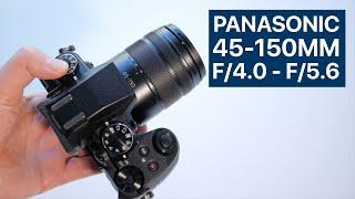 Panasonic Lumix 45-150mm f 4 0 - f 5 6 Lens Review