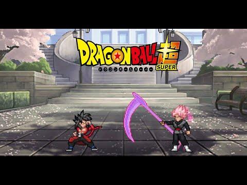 [DBS] Goku Xeno Vs Goku Black