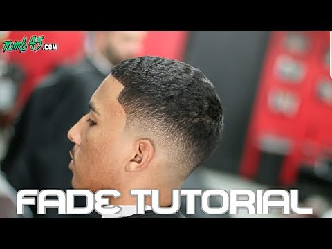 how to do a fade haircut step by step learn how to fade hair barbers step by step haircut 9945