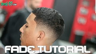 Learn How to Fade Hair! Barbers Step by Step Haircut Tutorial