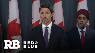 Trudeau: Evidence suggests Ukraine jet shot down by Iran