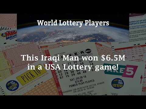 This Iraqi Man won $6.5M in a USA Lottery Game!