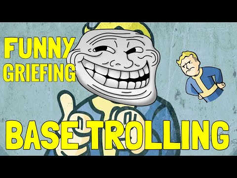 Fallout 76 - TROLLING & BASE GRIEFING Players With Mics (Hilarious Reactions)