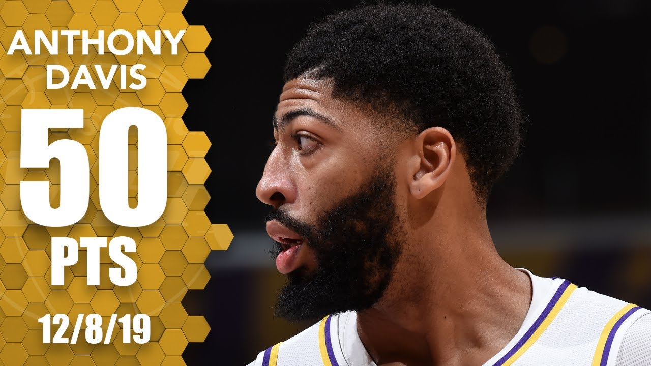 Anthony Davis scores 50 the 'old-school' way as Lakers beat ...