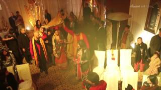 The Royal Wedding : Kiran Chaudhry & Riyaaz Amlani Mehandi Lahore