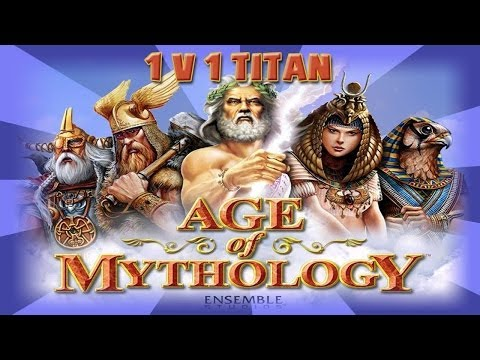 Age Of Mythology Titans - 1v1 Online - Ghost Lake Map