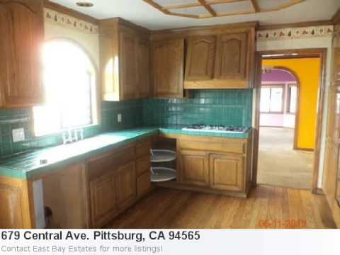 Real Estate Listing For Pittsburg, Ca- 679 Central Ave. Pitt