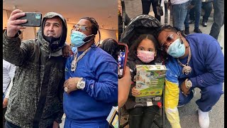 Rowdy Rebel Still Adjusting To Fame Throws A Toy Drive At Museum In New York