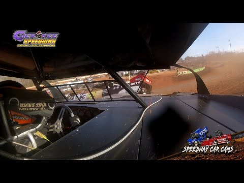 #21 Jay Merck - 602 Feature - 1-26-20 Cherokee Speedway - In-Car Camera