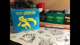 EARLY LOST THUNDER ELITE TRAINER BOX OPENING!!!