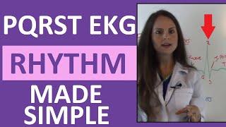 How to Memorize the PQRST EKG Rhythm Strip Wave for Anatomy & Pathophysiology