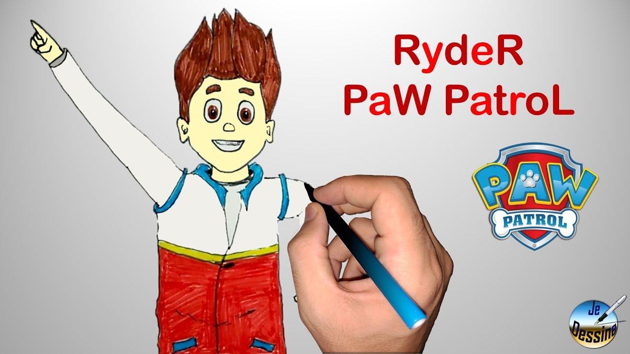 Dessiner Ryder Paw Patrouille Paw Patrol Youtube