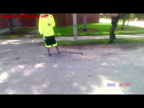 Bodycam Shows Police Successfully Disarm Knife Wielding Man