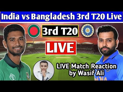 Chit Chat with Cricket fans by Wasif Ali   Live Match reaction of ind vs ban EP#3