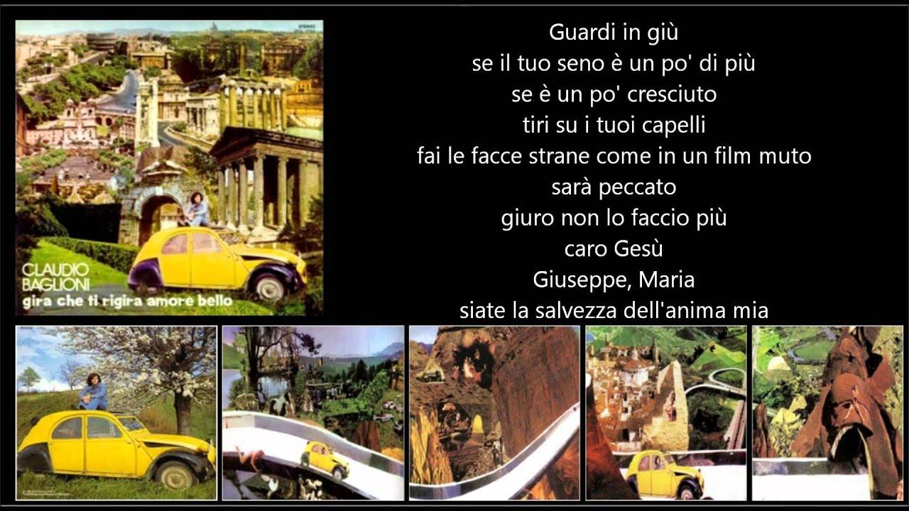Claudio Baglioni Ragazza Di Campagna Youtube