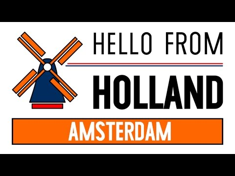 Hello from Holland 🌷  Amsterdam (Central Station area)