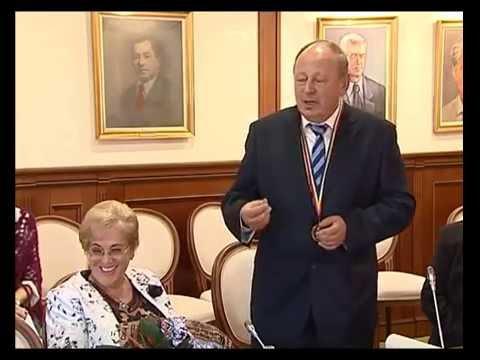 Medalia Iuliu Hatieganu decernata domnului doctor Tvica Herman Berkovits.