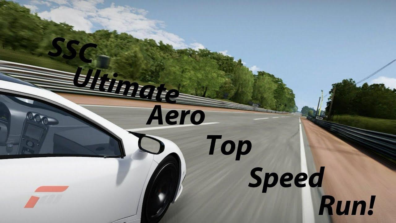 First Gear Rivalry SSC Ultimate Aero Vs Hennessey Venom GT ...  Forza Ssc Ultimate Aero Igcd