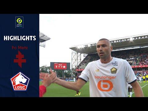 FC METZ - LOSC LILLE (3 - 3) - Highlights - (FCM - LOSC) / 2021-2022