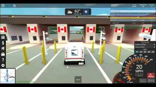 (Video #2) Driving A Mail Truck in Roblox