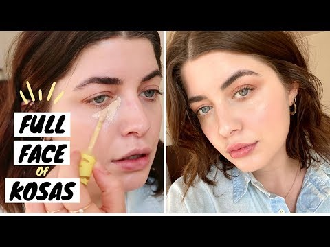 Full Face Of KOSAS + New Concealer Wear Test & Review