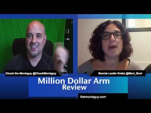 Million Dollar Arm movie review with Lake Bell