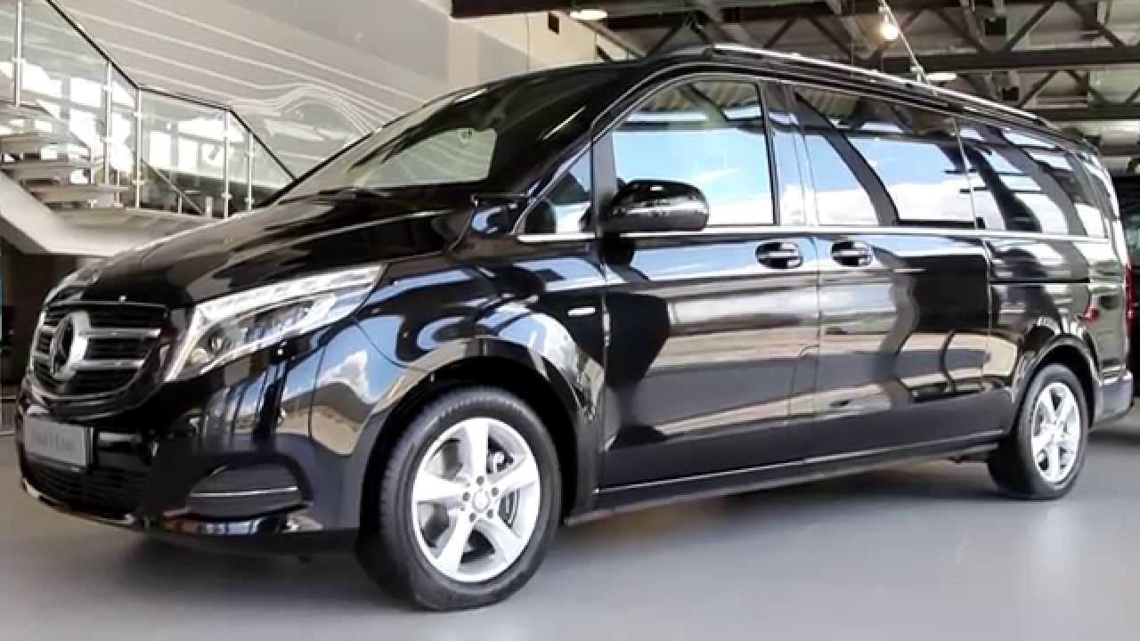 Обзор автомобиля Mercedes-Benz V-Класс