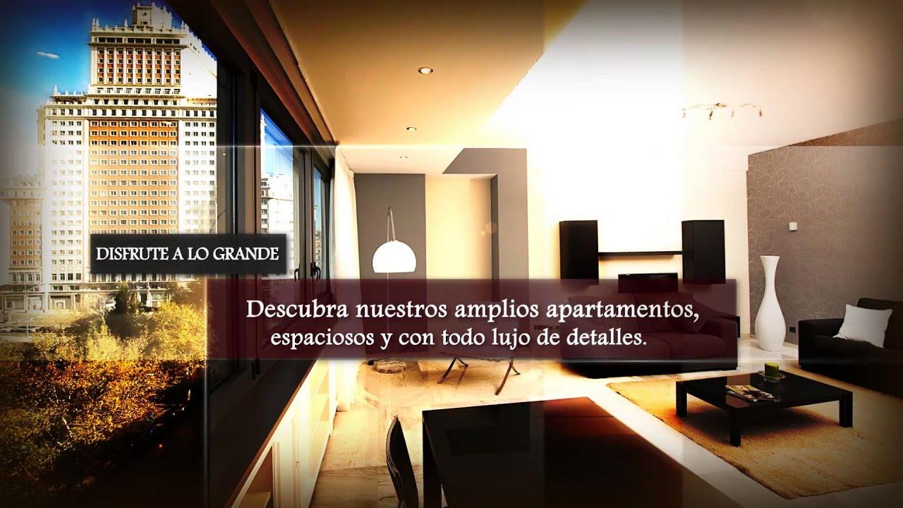 Apartamentos madrid plaza junto a gran v a alquiler por meses semanas o d as youtube - Alquiler por meses madrid ...