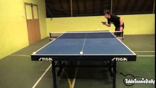 Table Tennis Serve Accuracy! Target practice!