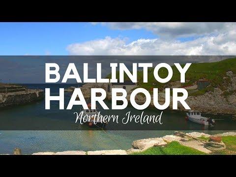 Ballintoy Harbour - 360 Degree Video - Ballintoy Beach - Sheep Island in Ballintoy Co Antrim
