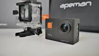 2018 APEMAN A80 4K Sports Camera - 20MP - EIS